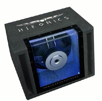 Hifonics Titan TX8BPI Subwoofer Single-Bandpass-System 20cm 300/600W 141dB für 137,00 Euro