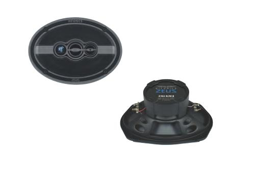 Hifonics ZSI-693 Auto-Lautsprecher 3-Wege Triaxial-System 16x23cm 150/300W für 109,00 Euro