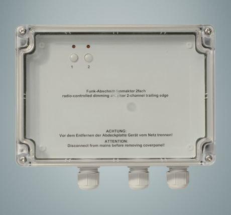 HomeMatic HM-LC-Dim2L-SM Funk-Dimmaktor 2-fach Phasenabschnitt (Aufputz) für 139,95 Euro
