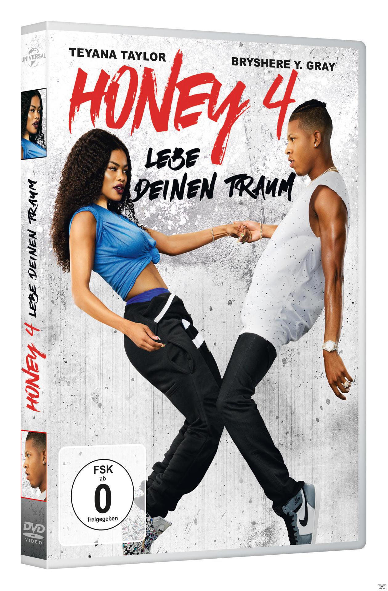 Honey 4 - Lebe deinen Traum (DVD) für 7,99 Euro