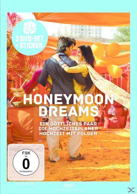 Honeymoon Dreams: ein Göttliches Paar, Der Hochzeitsplaner, Hochzeit mit Folgen (DVD) für 13,99 Euro