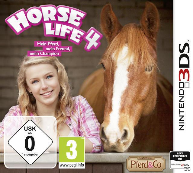 Horse Life 4: Mein Pferd, mein Freund, mein Champion (Nintendo 3DS) für 29,99 Euro
