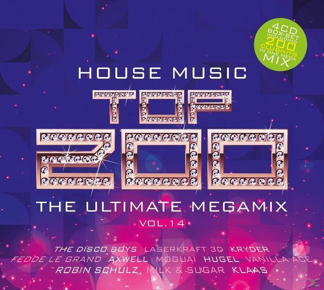 Quadrophon house top 200 vol 14 von expert technomarkt for Greatest house music