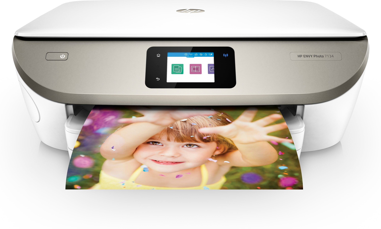 HP Envy Photo 7134 All in One A4 Thermal Inkjet Drucker 4800 x 1200 DPI für 108,20 Euro