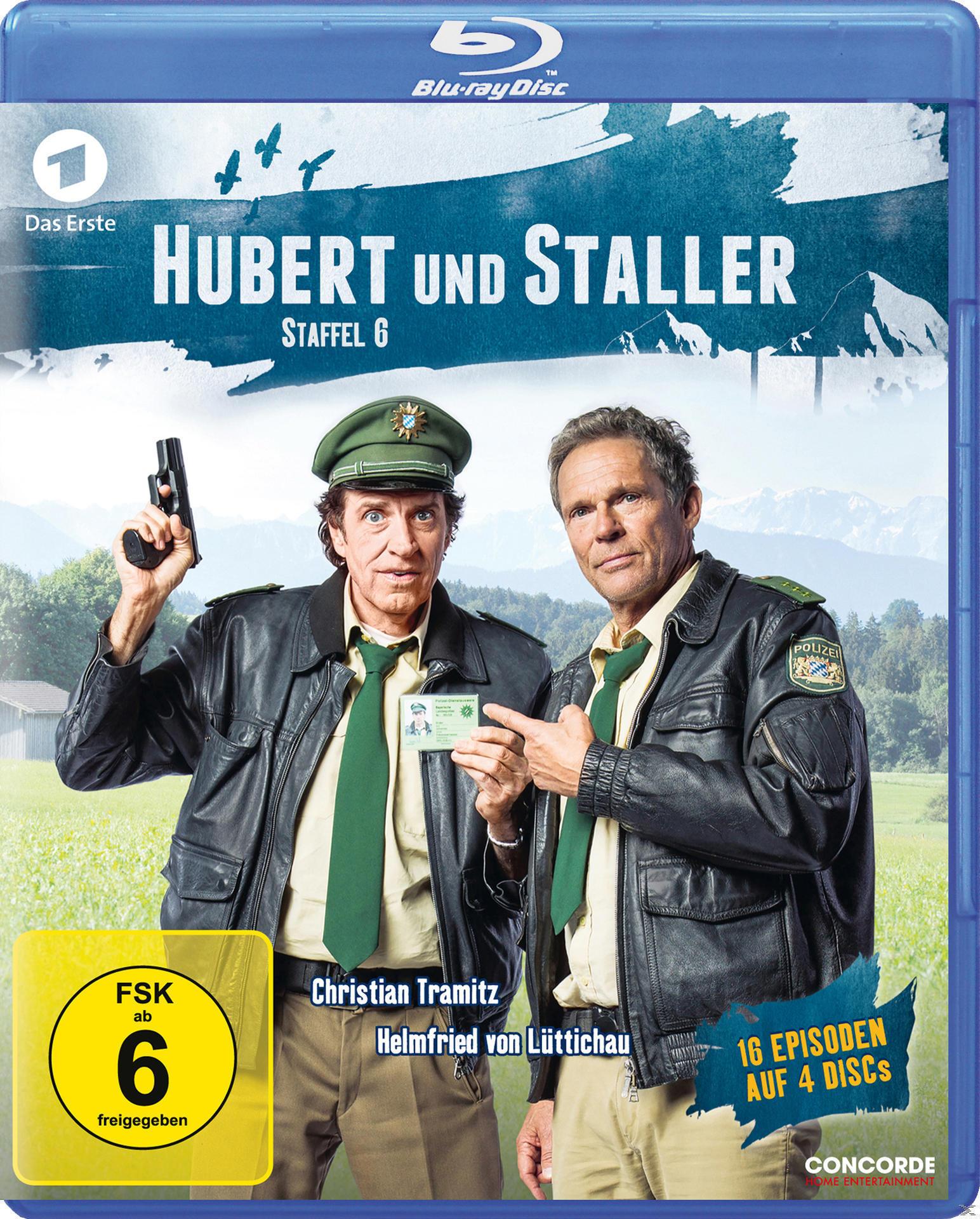 Hubert und Staller - Staffel 6 Bluray Box (BLU-RAY) für 22,41 Euro