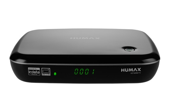 Humax HD Nano T2 DVB-T2 HD-Receiver Full-HD Time-Shift PVR-ready für 125,00 Euro