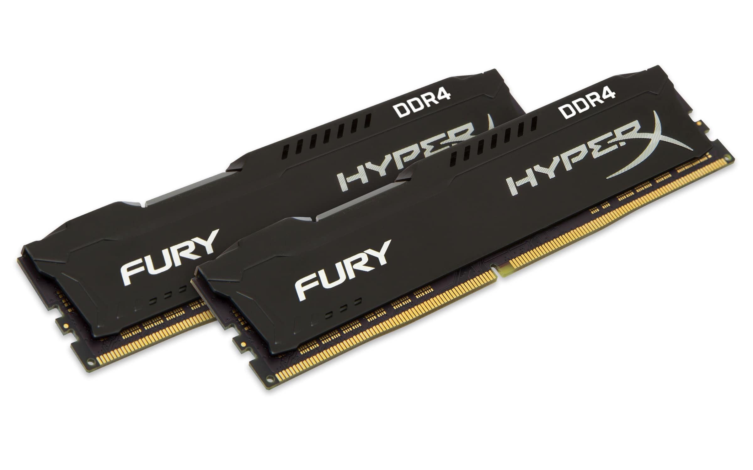 HyperX FURY Memory Black 16GB DDR4 2133MHz Kit für 124,99 Euro