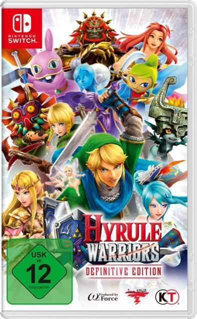Hyrule Warriors: Definitive Edition (Nintendo Switch) für 46,99 Euro
