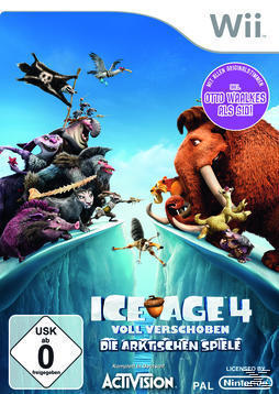 Ice Age 4: Voll verschoben (Nintendo WII) für 29,99 Euro