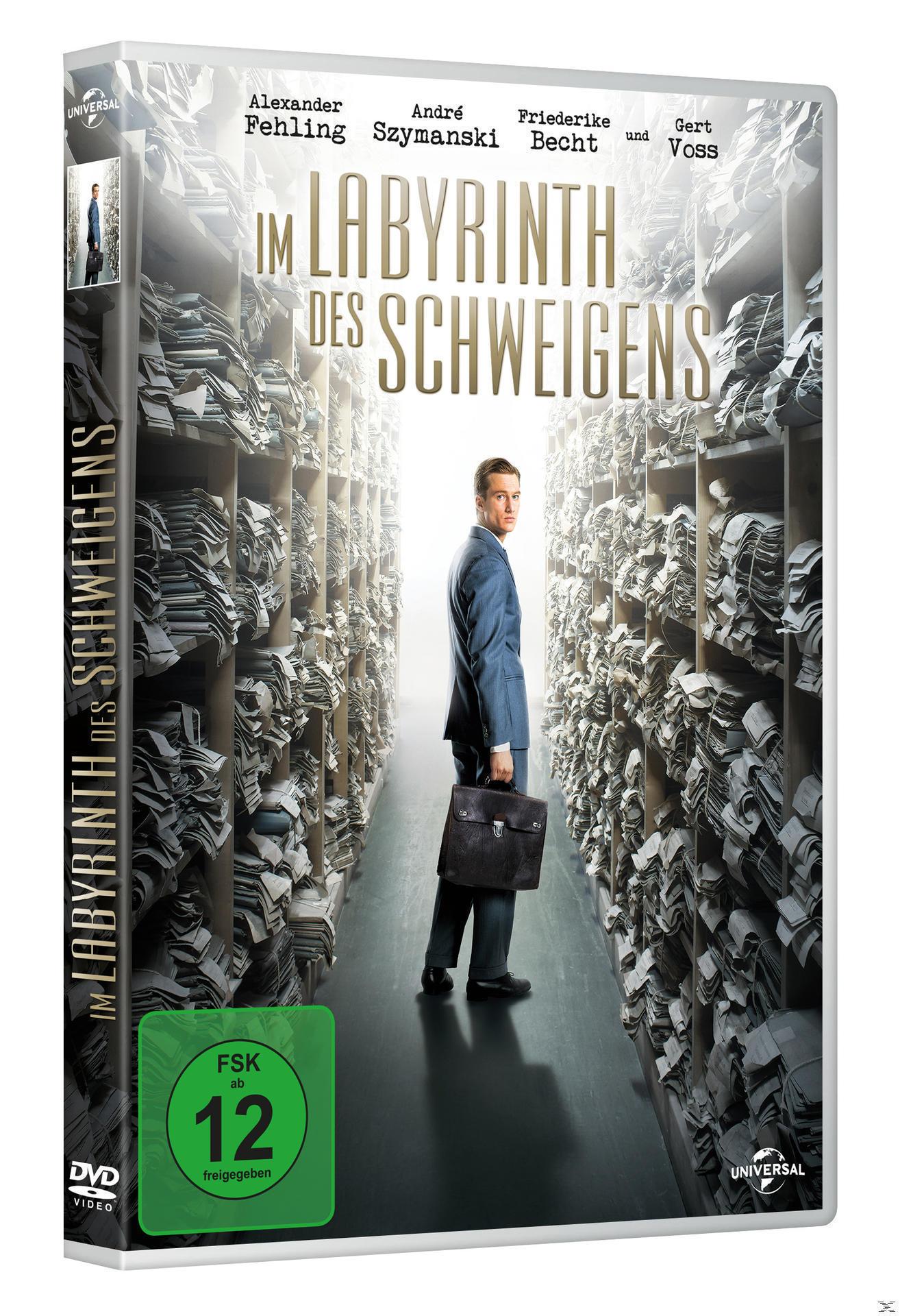 Im Labyrinth des Schweigens (DVD) für 7,99 Euro