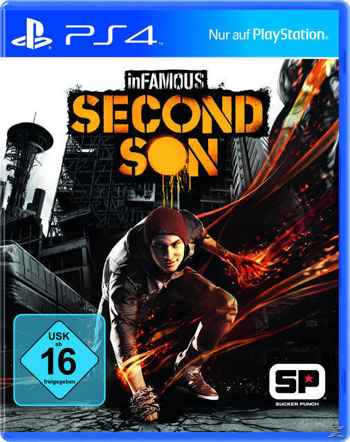 inFAMOUS: Second Son (PlayStation 4) für 39,99 Euro