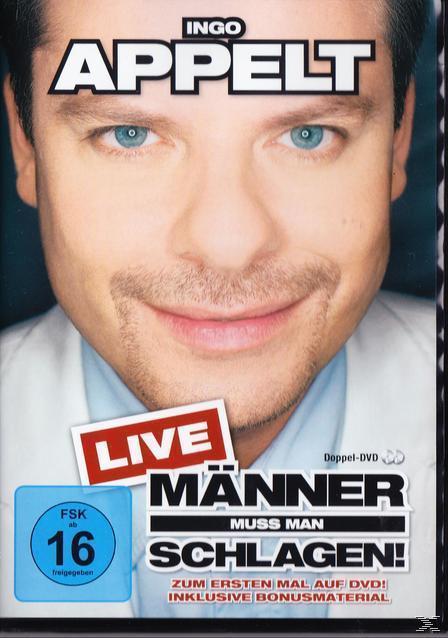 Ingo Appelt - Männer muss man schlagen! - Live (DVD) für 11,99 Euro
