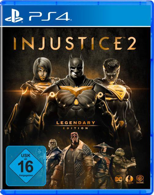 Injustice 2 - Legendary Edition (PlayStation 4) für 29,00 Euro