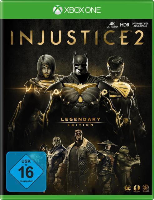 Injustice 2 - Legendary Edition (Xbox One) für 29,00 Euro