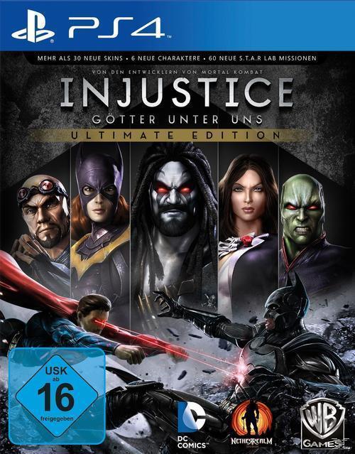 Injustice: Götter unter uns - Ultimate Edition (PlayStation 4) für 25,00 Euro