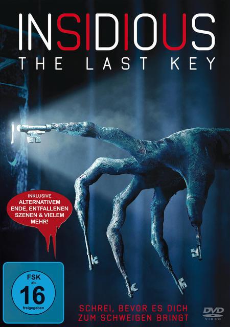 Insidious - The Last Key (DVD) für 12,99 Euro