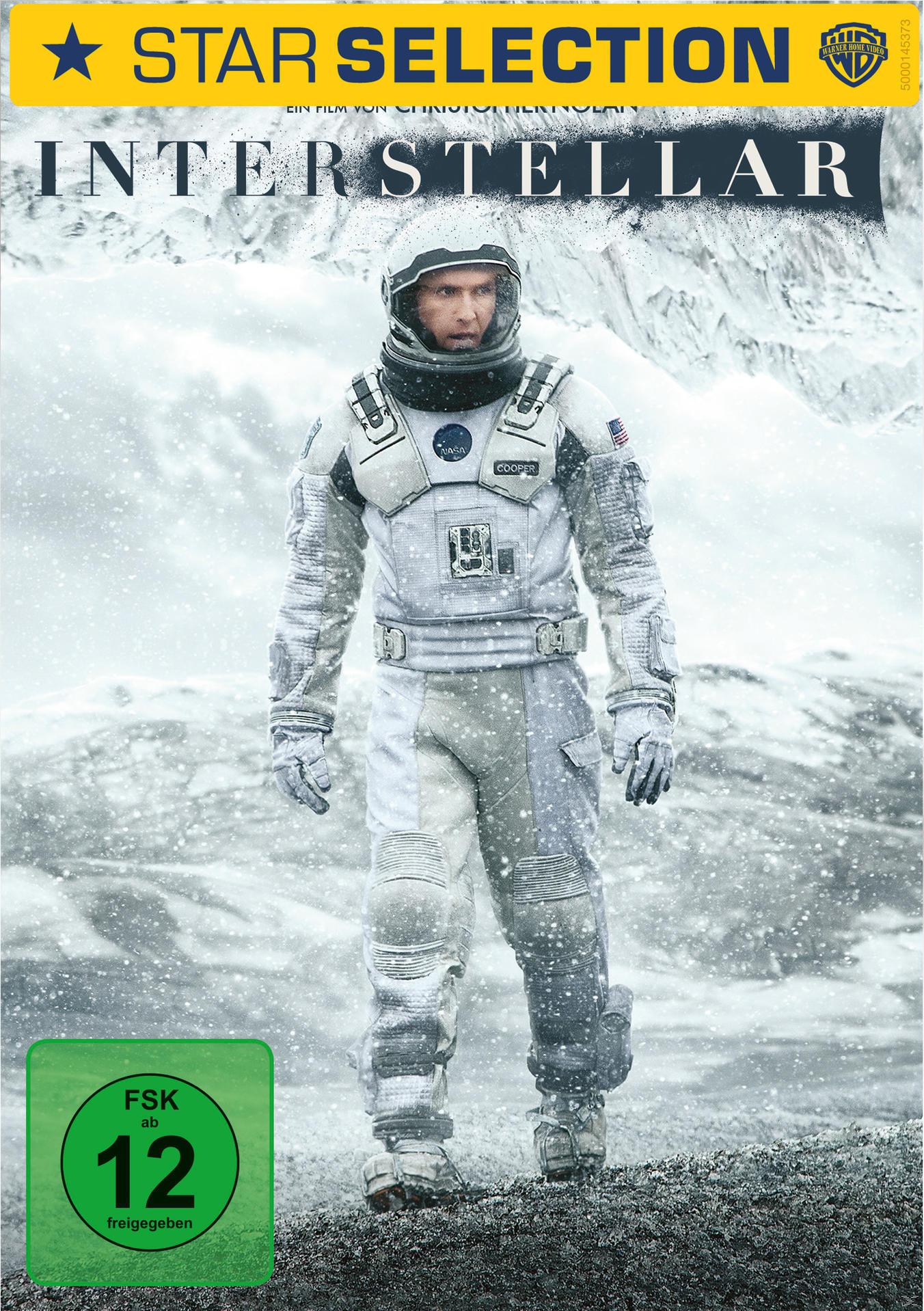 Interstellar Star Selection (DVD) für 7,99 Euro