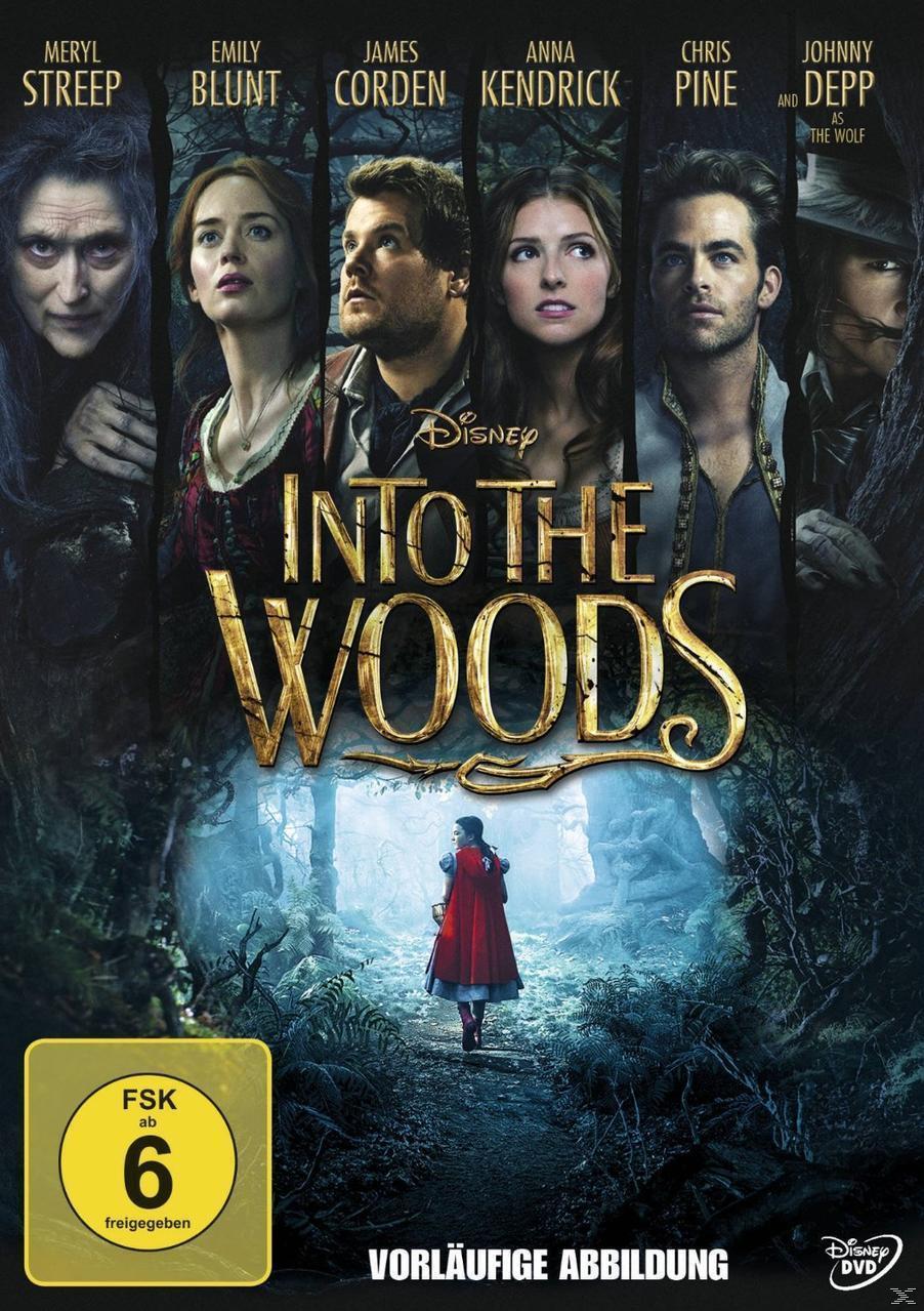 Into the Woods (DVD) für 8,76 Euro