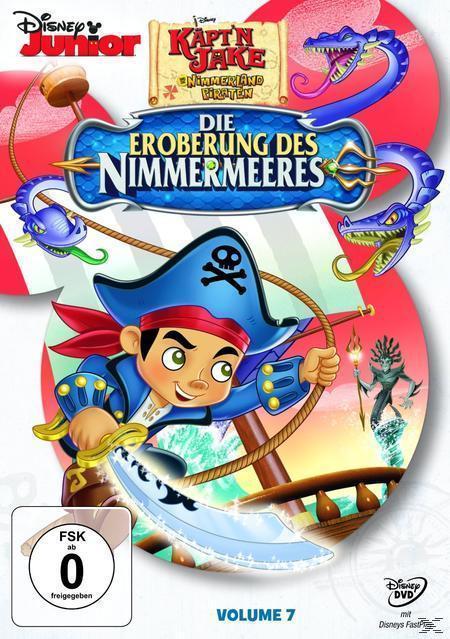 Jake und die Nimmerland Piraten - Die Eroberung des Nimmermeeres (DVD) für 7,99 Euro