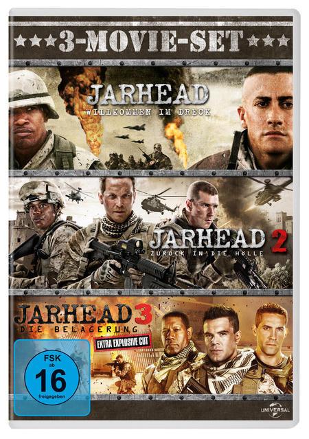 Jarhead - 3-Movie-Set DVD-Box (DVD) für 17,99 Euro