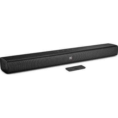 JBL Bar Studio All-in-One-Soundbar integriertes Dual-Bass-Port-Design Bluetooth für 116,88 Euro