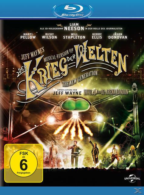 Jeff Wayne's Musical Version von 'Der Krieg der Welten' - The new Generation (BLU-RAY) für 13,99 Euro