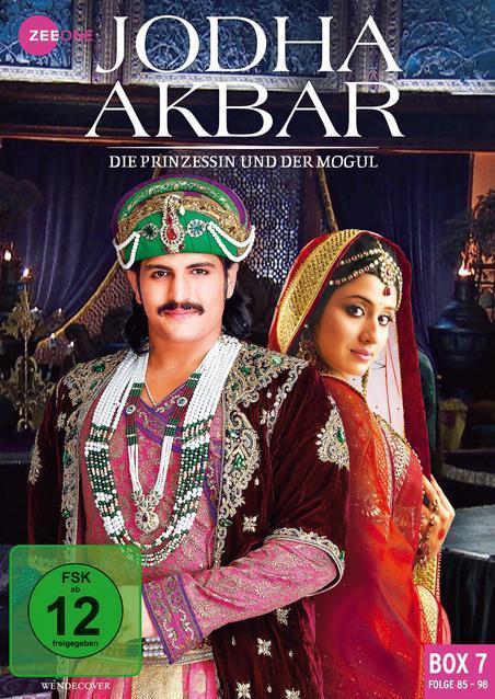 Jodha Akbar - Die Prinzessin und der Mogul - Box 7 (Folge 85-98) DVD-Box (DVD) für 14,99 Euro