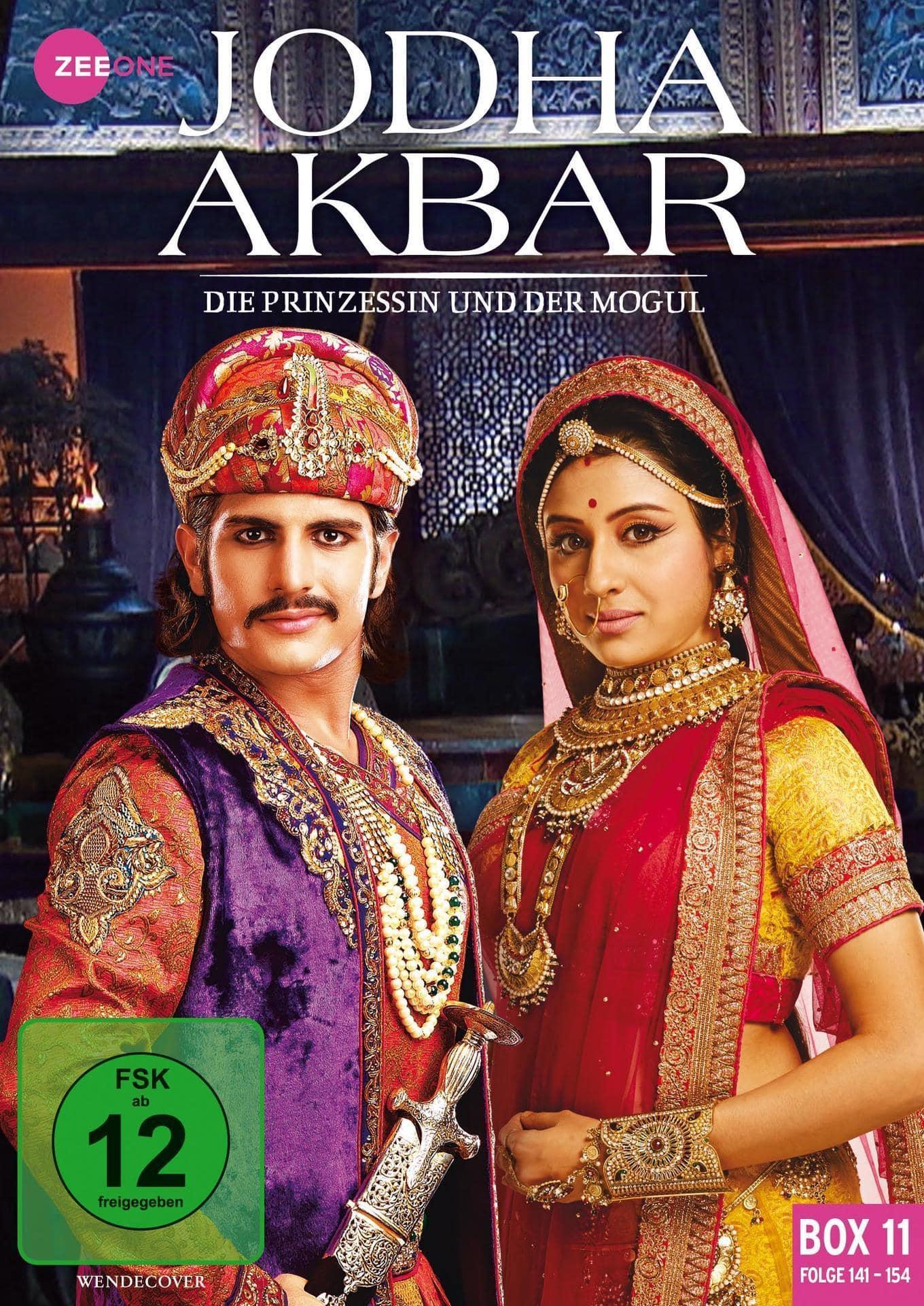 Jodha Akbar - Die Prinzessin und der Mogul (Box 11) (Folge 141-154) DVD-Box (DVD) für 15,59 Euro