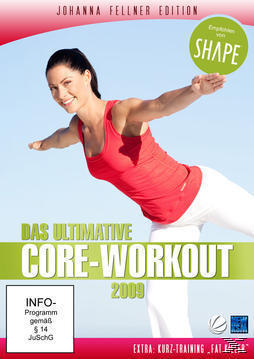 Johanna Fellner Edition - Das ultimative Core-Workout (DVD) für 9,99 Euro