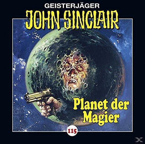 John Sinclair (115): Planet der Magier (CD(s)) für 6,99 Euro