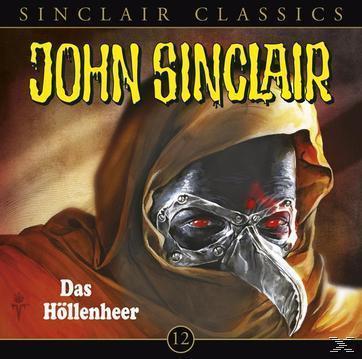John Sinclair Classics (12): Das Höllenheer  (CD(s)) für 4,99 Euro
