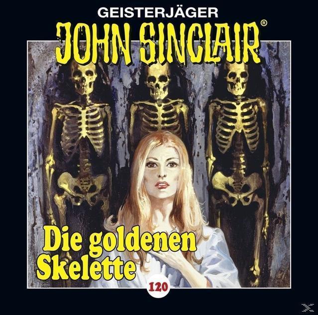 John Sinclair: Die goldenen Skelette (120) (CD(s)) für 6,99 Euro