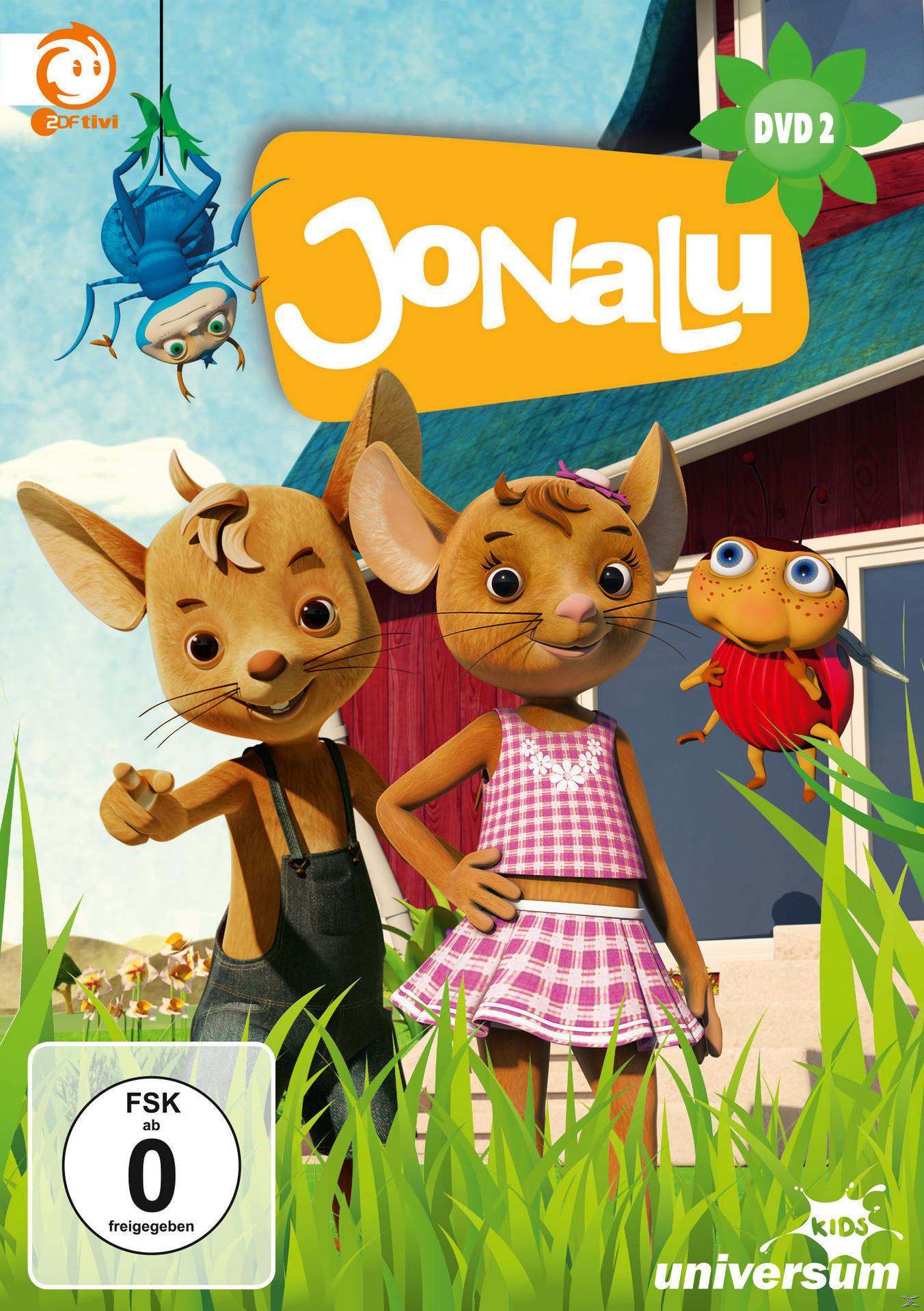 JoNaLu - Staffel 1, DVD 2 (Episoden 4-6) (DVD) für 7,99 Euro