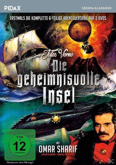 Jules Verne: Die geheimnisvolle Insel DVD-Box (DVD) für 28,99 Euro