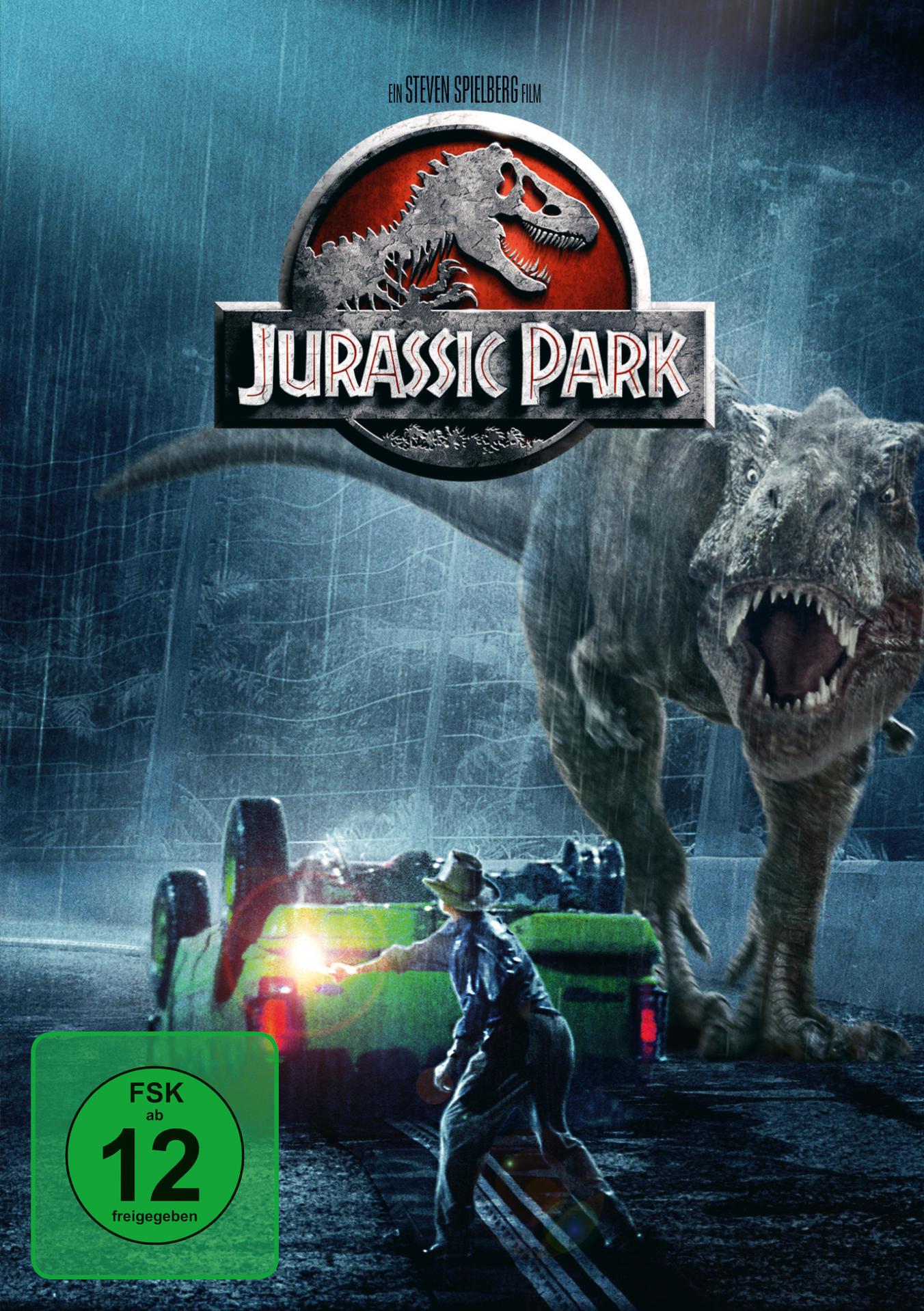 Jurassic Park (DVD) für 7,99 Euro
