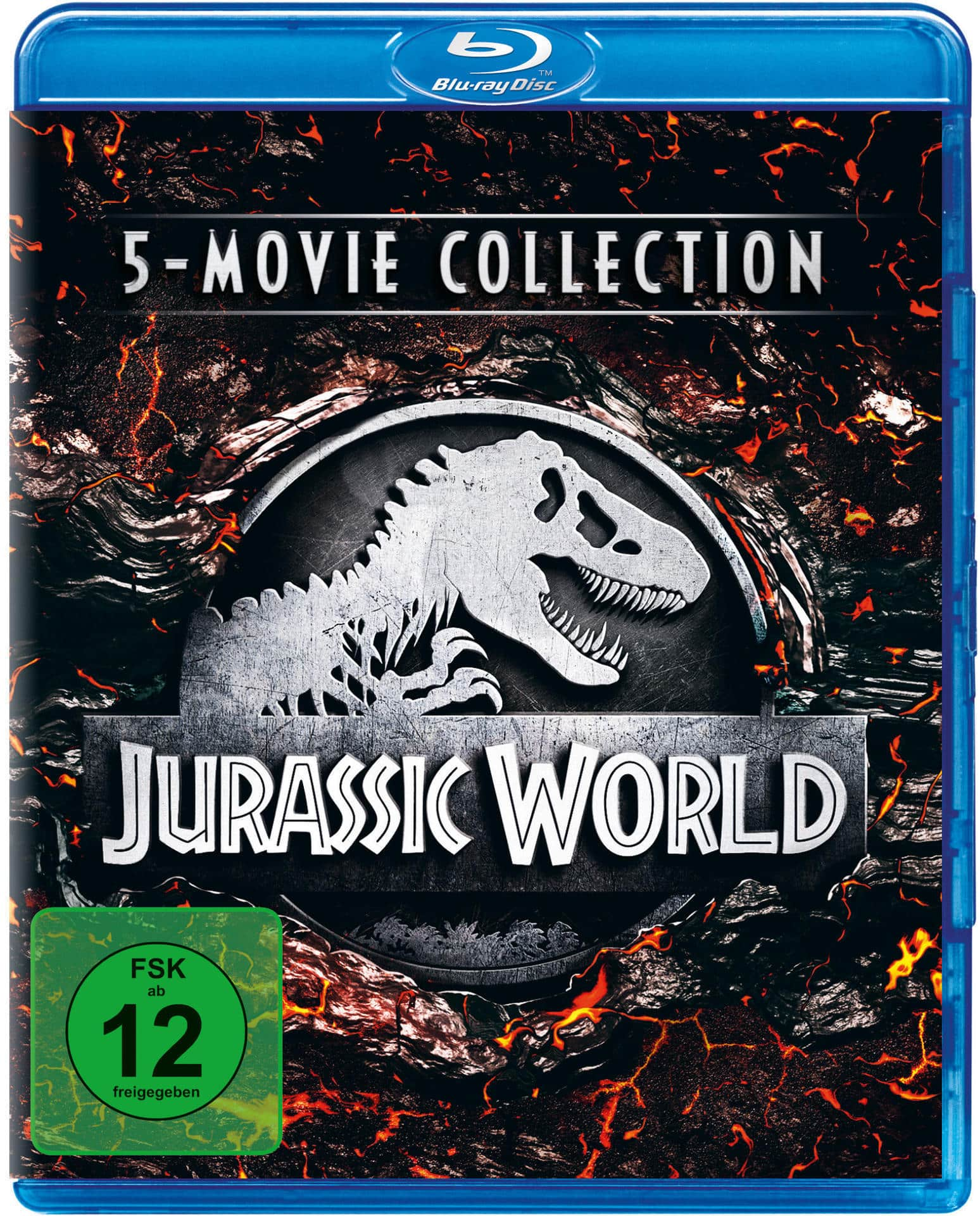 Jurassic World - 5-Movie Collection BLU-RAY Box (BLU-RAY) für 24,99 Euro