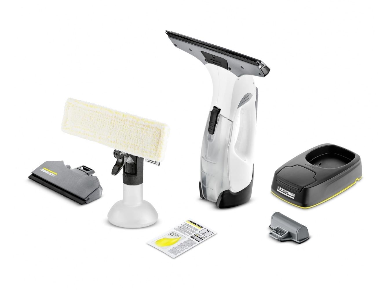 Karcher WV5 Prem. Non-Stop Cleaning Kit Fenstersauger 2xAkku für 124,99 Euro