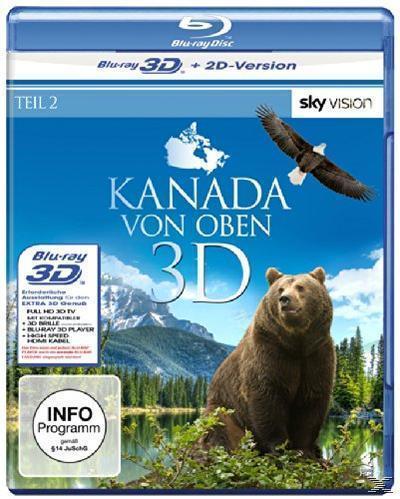 Kanada von oben - Teil 2 (BLU-RAY + BLU-RAY 3D) für 19,99 Euro