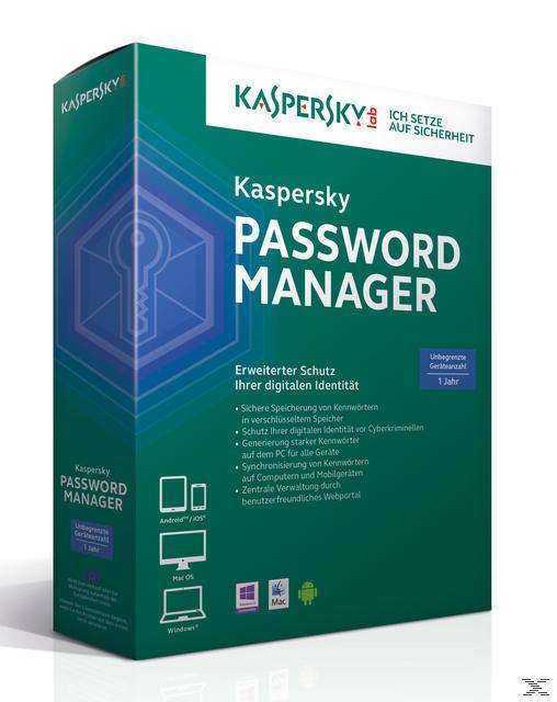 Kaspersky Passwort Manager (PC) für 12,99 Euro