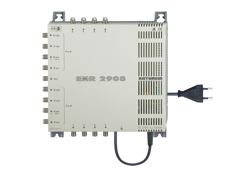 Kathrein EXR 2908 Multischalter mit integriertem Netzteil für 8 Anschlüsse für 180,29 Euro