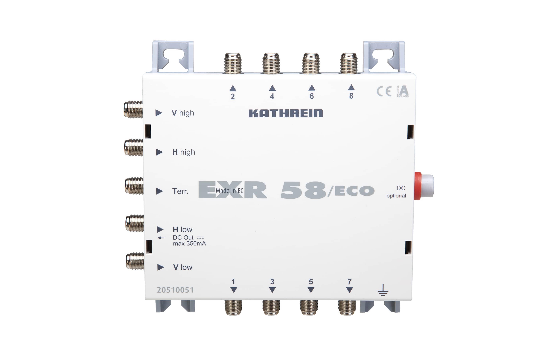 Kathrein EXR 58 / ECO Multischalter 5 auf 8 für 128,00 Euro