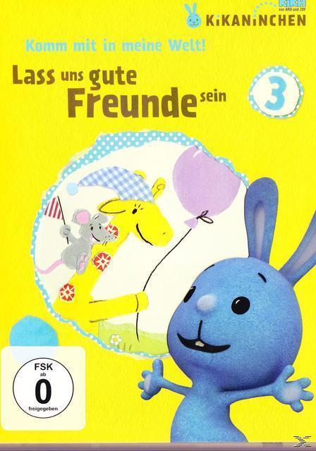 Kikaninchen - Lass uns gute Freunde sein (DVD) für 14,99 Euro