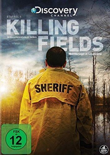 Killing Fields - Mörderjagd in Louisiana - Staffel 1 DVD-Box (DVD) für 27,28 Euro