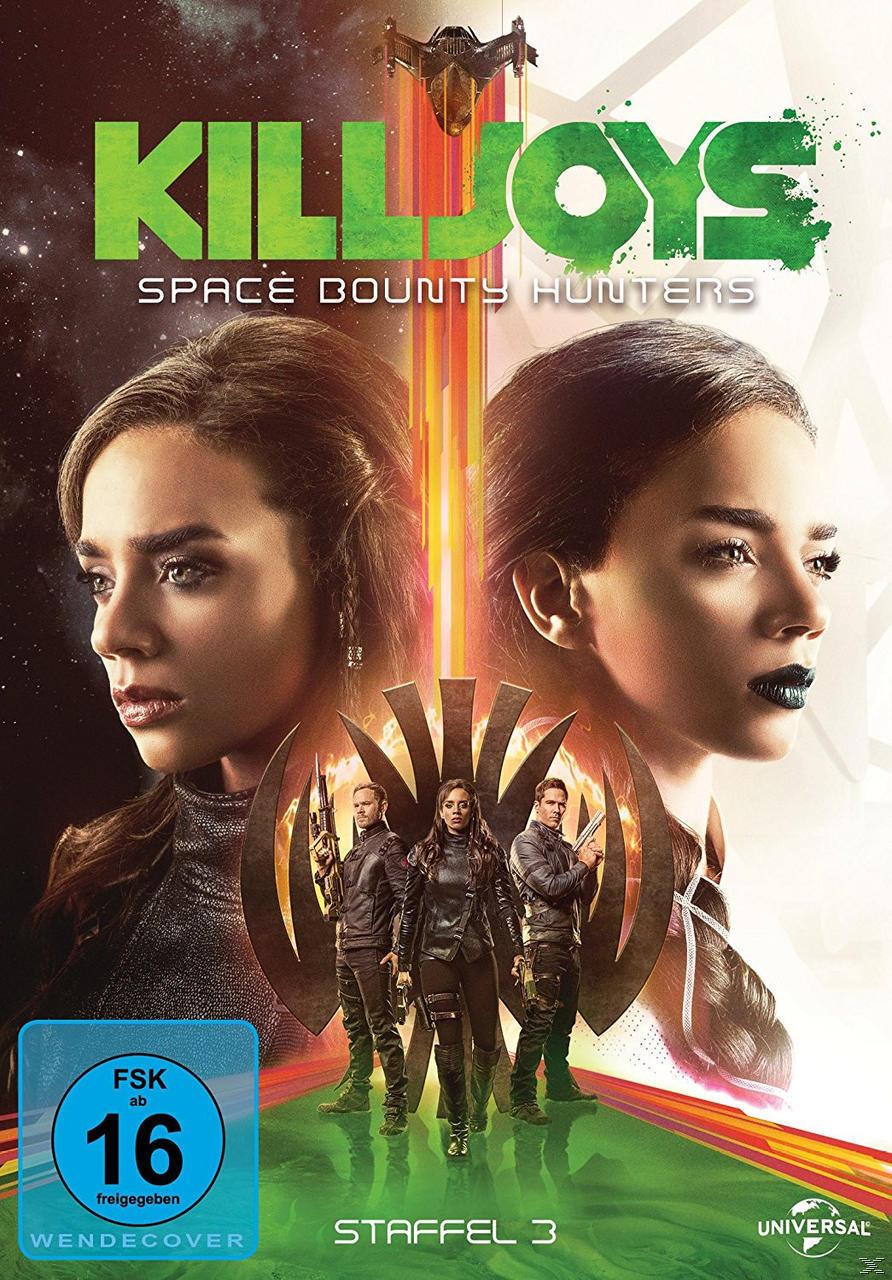 Killjoys - Space Bounty Hunters - Staffel 3 DVD-Box (DVD) für 19,99 Euro