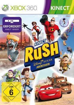 Kinect Rush: Ein Disney Pixar Adventure (XBox 360) für 19,00 Euro