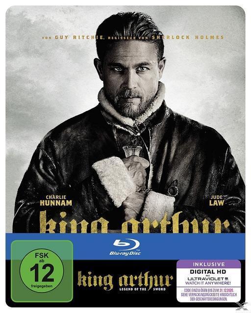 King Arthur: Legend of the Sword Steelbook (BLU-RAY) für 22,99 Euro