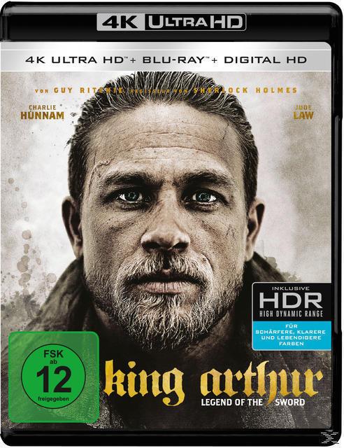 King Arthur: Legend of the Sword (4K Ultra HD BLU-RAY + BLU-RAY) für 24,99 Euro