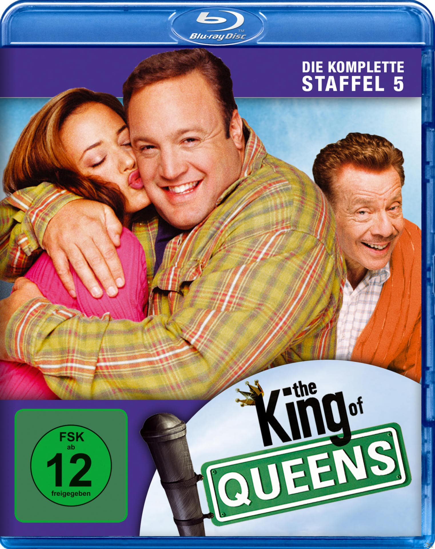 King of Queens - Season 5 - 2 Disc Bluray (BLU-RAY) für 9,99 Euro