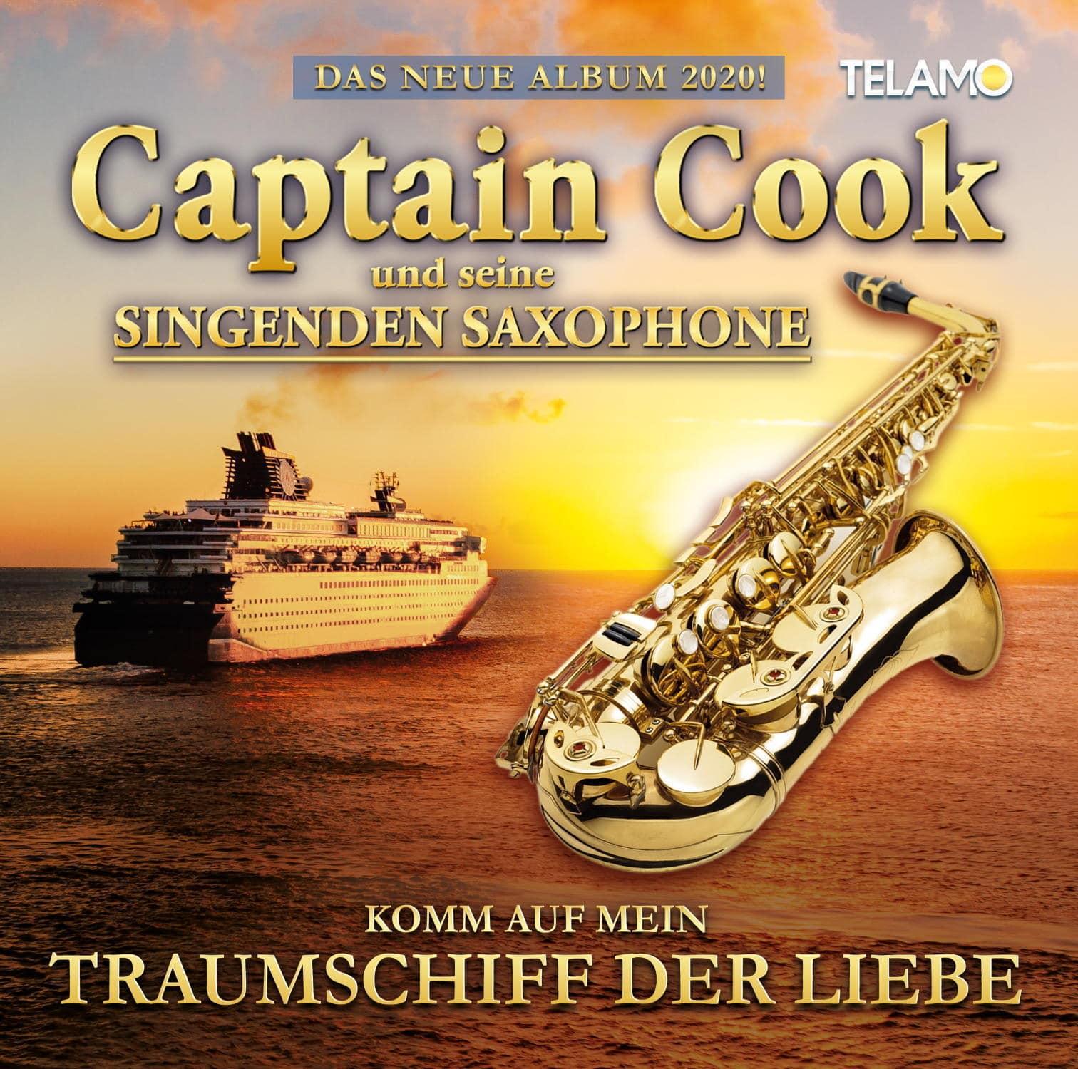 Komm auf mein Traumschiff der Liebe (Captain Cook und seine singenden Saxophone) für 17,54 Euro