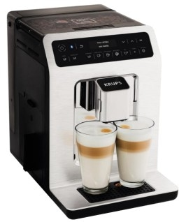 Krups EA 892 C Evidence One-Touch-Cappuccino Kaffeevollautomat OLED-Touchscreen für 1.299,00 Euro